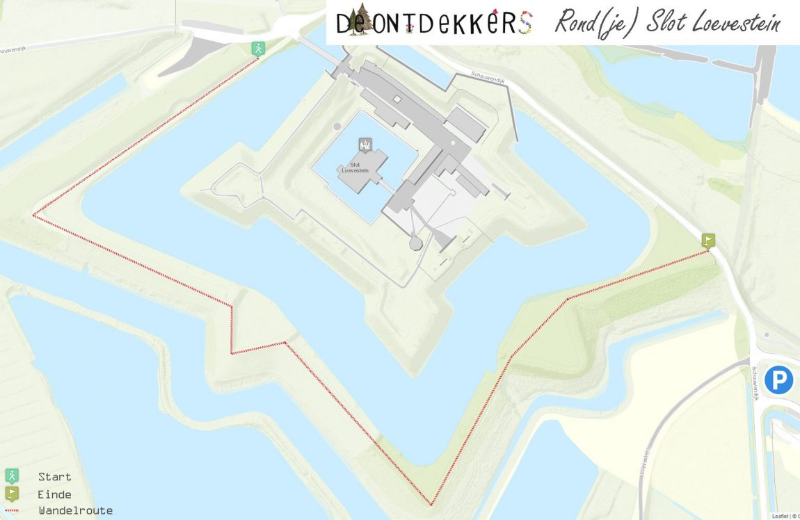 De Ontdekkers Wandelroute: Rond(je) Slot Loevestein